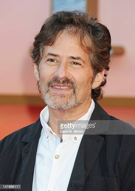 James Horner arrives at the World Premiere of 'Titanic 3D' at the Royal Albert Hall on March 27 2012 in London England