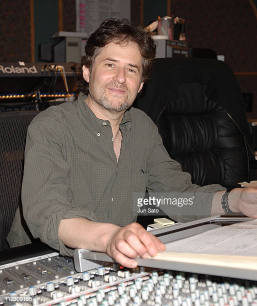 James Horner during James Horner Scores 'The Legend of Zorro' Recording Session June 16 2005 at ToddAO Scoring in Studio City United States