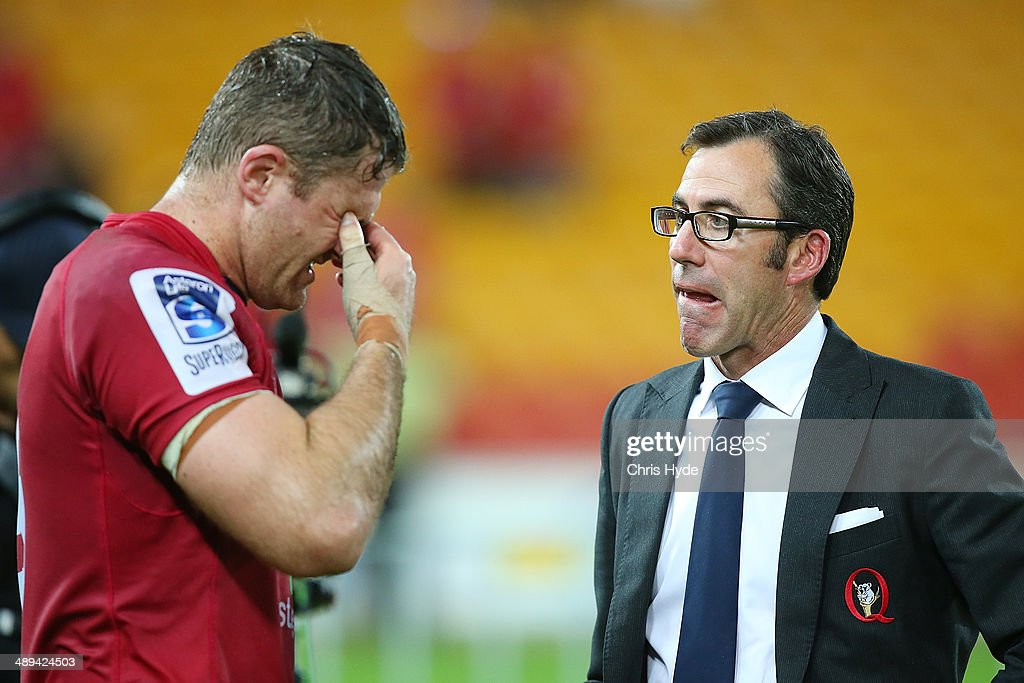 Super Rugby Rd 13 - Reds v Crusaders : News Photo