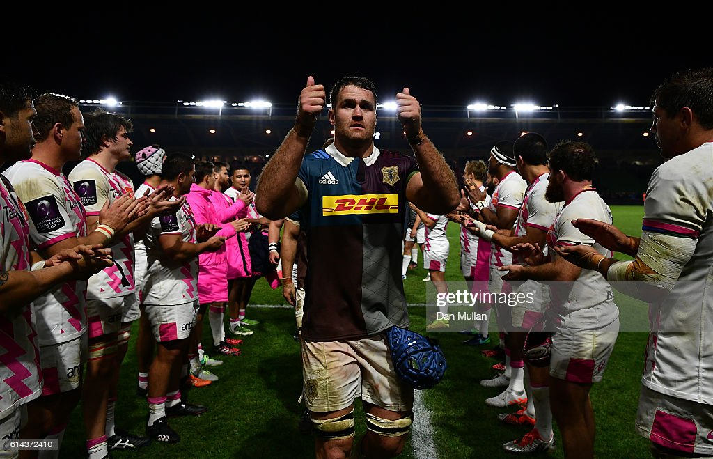 Harlequins v Stade Francais Paris - European Rugby Challenge Cup : News Photo