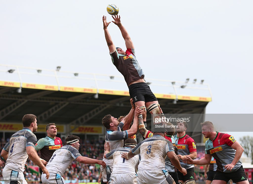 Harlequins v Newcastle Falcons - Aviva Premiership : News Photo