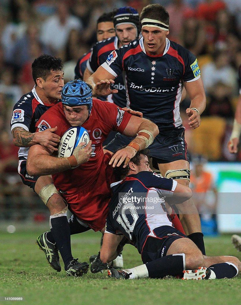 Super Rugby Rd 3 - Reds v Rebels