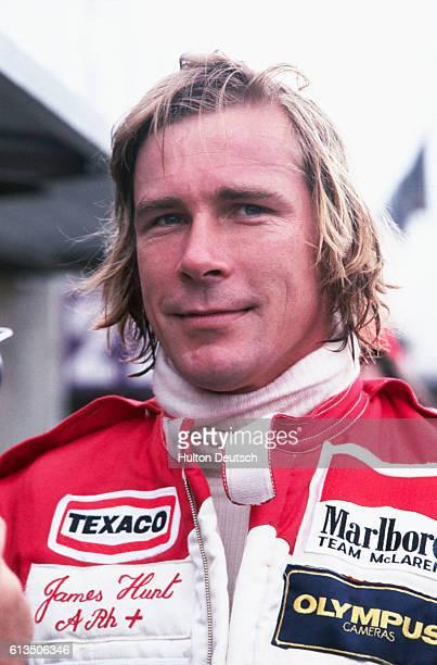 James Hunt, British Grand Prix .