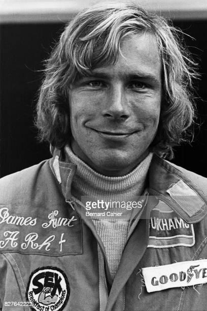 James Hunt, Grand Prix of Great Britain, Silverstone, 19 July 1975.