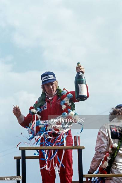 James Hunt, Grand Prix of Great Britain, Silverstone Circuit, 16 July 1977.