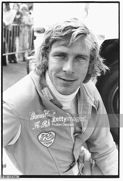 James Hunt Grand Prix [racing driver] No 24 James Hunt Date of Birth August 29 1947 in Belmont Surrey Lives in Marbella Spain Married to Suzy Miller...