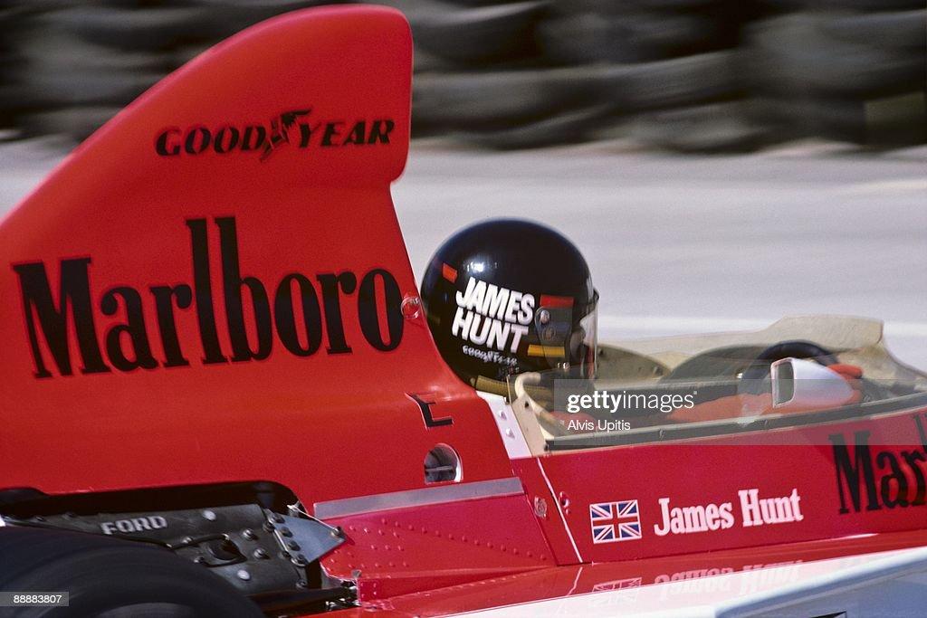 James Hunt... : News Photo