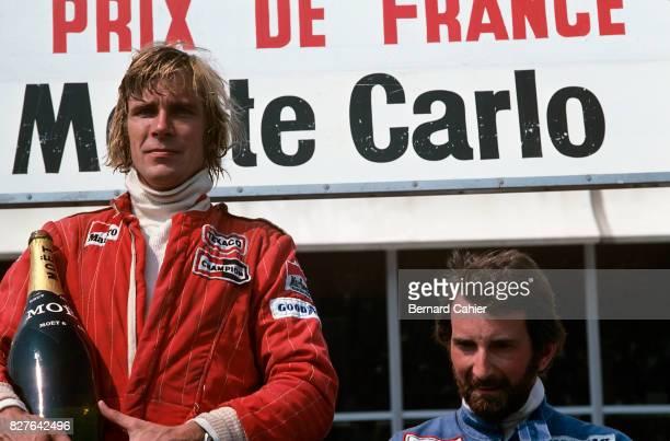 James Hunt, John Watson, Grand Prix of France, Paul Ricard, 04 July 1976.