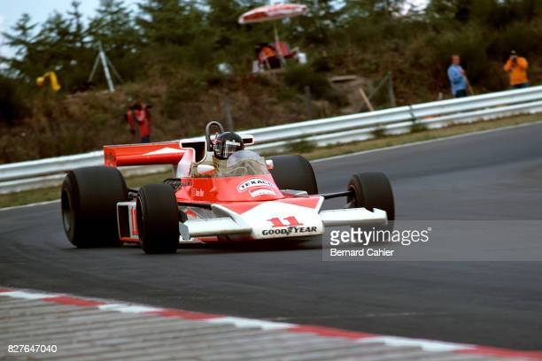 James Hunt, McLaren-Ford M23, Grand Prix of Germany, Nurburgring, 01 August 1976.