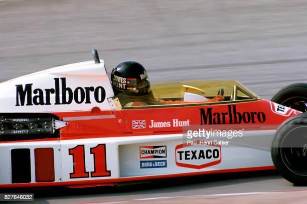 James Hunt, McLaren-Ford M23, Grand Prix of Spain, Jarama, 02 May 1976.