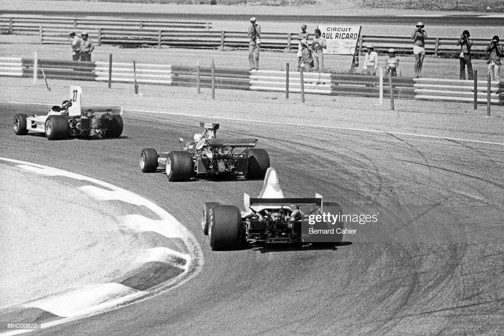 James Hunt, Mike Hailwood, Graham Hill, Grand Prix Of France : Fotografía de noticias