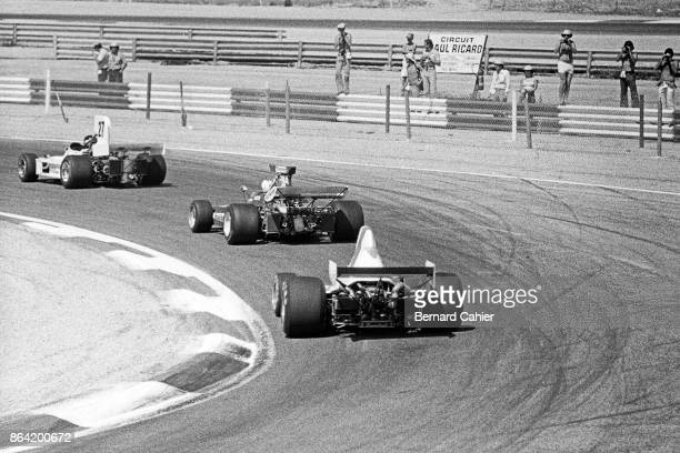 James Hunt, Mike Hailwood, Graham Hill, March-Ford 731, Surtees-Ford TS9A, Surtees-Ford TS14A, Shadow-Ford DN1, Grand Prix of France, Circuit Paul...