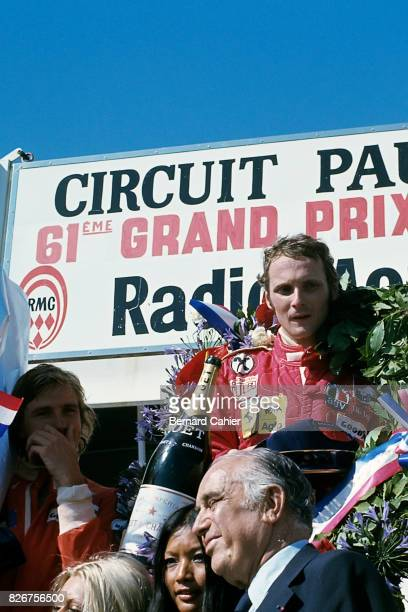 James Hunt Niki Lauda Grand Prix of France Paul Ricard 04 July 1975