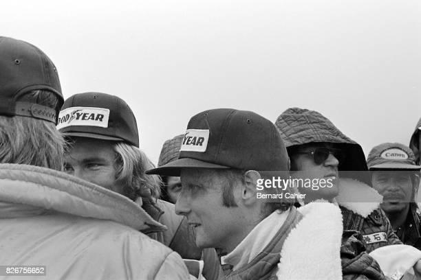 James Hunt Niki Lauda Grand Prix of Japan Fuji Speedway 24 October 1976