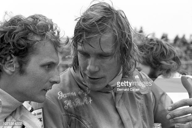 James Hunt Niki Lauda Grand Prix of the Netherlands Circuit Park Zandvoort 29 July 1973