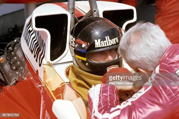 James Hunt, Teddy Mayer, McLaren-Ford M23, Grand Prix of Spain, Jarama, 02 May 1976.