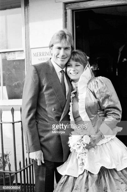 James Hunt the 1976 World Motor Racing Champion marries for the second time to Sarah Lomax They have got married in Marlborough Wiltshire James was...