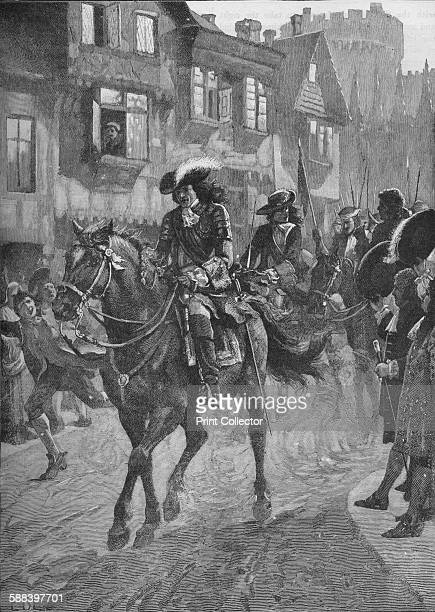 James II entering Dublin after the Battle of the Boyne 1690 From Cassell's History of England Vol III