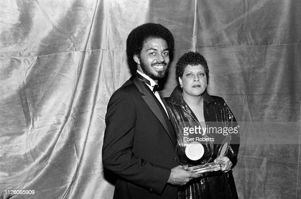 James Ingram and Patti Austin at the Frankie Crocker Awards at The Savoy in New York City on January 21 1983