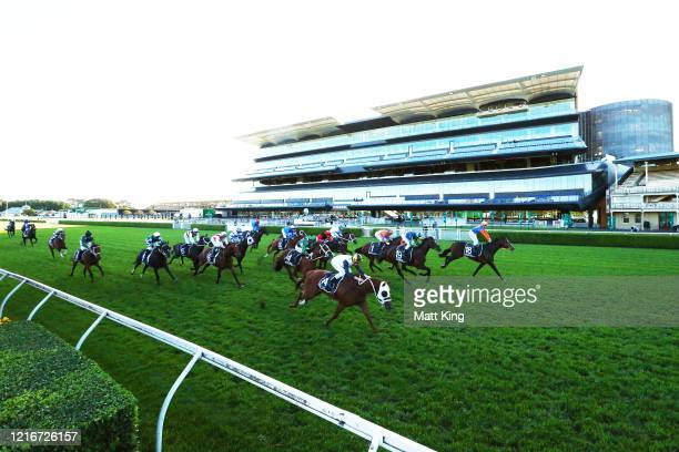 James Innes Jnr riding Nettoyer wins Race 9 The Star Doncaster Mile during The Championship Day 1 Sydney Racing at Royal Randwick Racecourse on April...