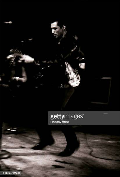 James Intveld performs at Ronnie Mack's Barn Dance at The Palomino in North Hollywood on January 21 1992 in Los Angeles