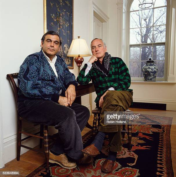 James Ivory and Ismail Merchant