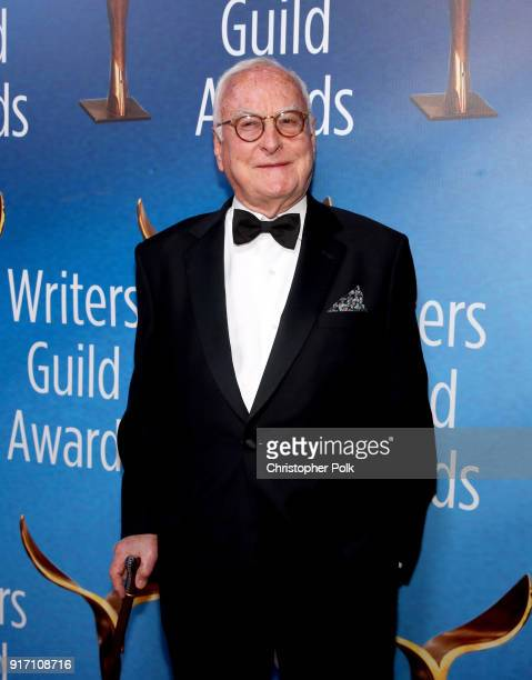 James Ivory attends the 2018 Writers Guild Awards LA Ceremony at The Beverly Hilton Hotel on February 11 2018 in Beverly Hills California