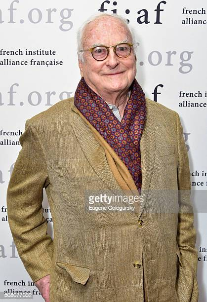 James Ivory attends the FIAF's CineSalon Screening Of 'Maurice' at Florence Gould Hall on February 2 2016 in New York City