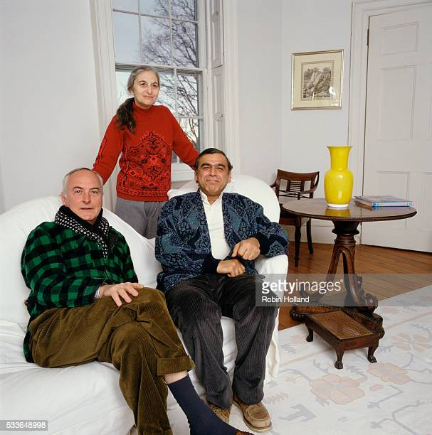 James Ivory Ruth Prawer Jhabvala and Ismail Merchant