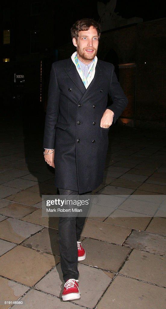 London Celebrity Sightings -  April 4, 2016