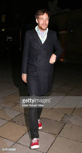 James Jagger attending The Rolling Stones 'Exhibitionism' private view at the Saatchi Gallery on April 4 2016 in London England