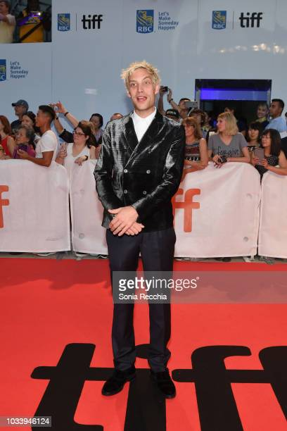 James Jagger attends the 'Jeremiah Terminator LeRoy' Premiere during 2018 Toronto International Film Festival at Roy Thomson Hall on September 15...