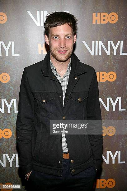 James Jagger attends the premiere of HBO's Vinyl at the Alamo Drafthouse on February 11 2016 in Austin Texas