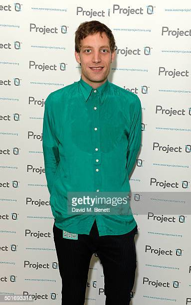 James Jagger attends the Project0 Wave Makers Marine Conservation concert at Scala on December 16 2015 in London England