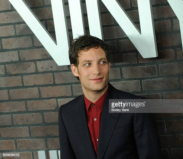 James Jagger attends the 'Vinyl' New York Premiere at Ziegfeld Theatre on January 15 2016 in New York City