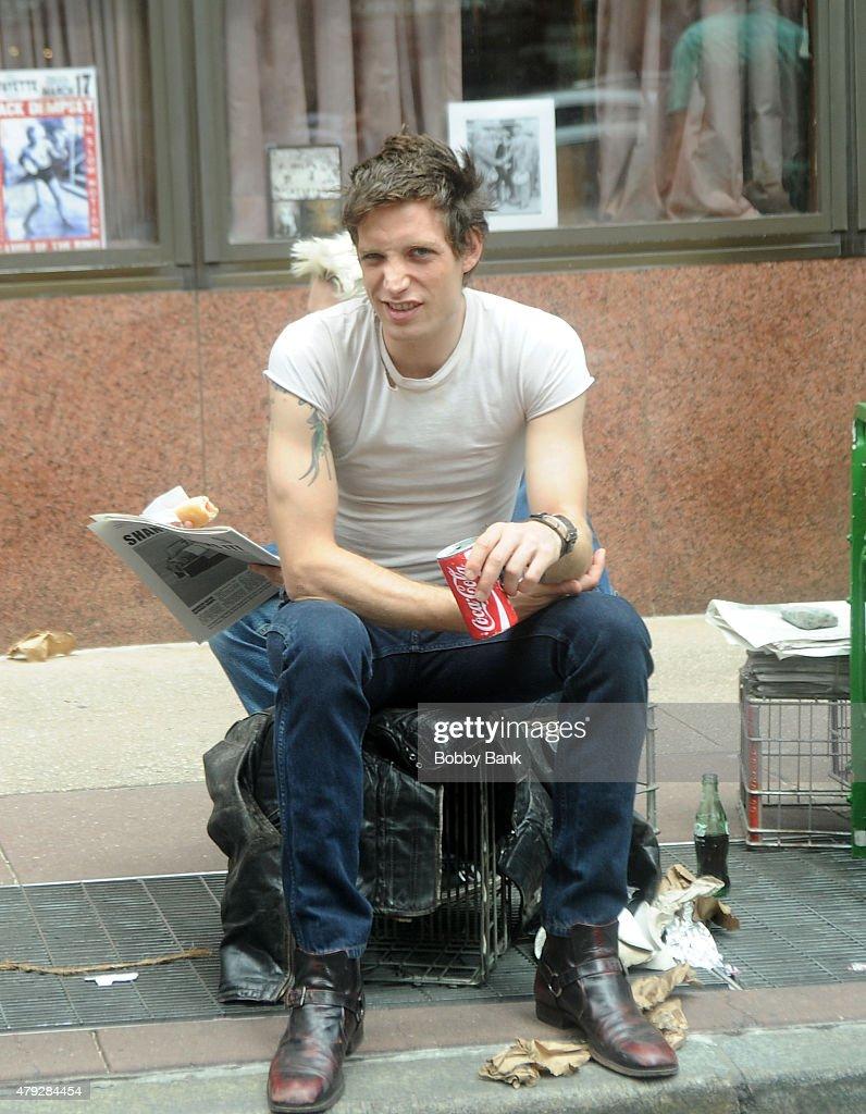 Celebrity Sightings In New York City - July 02, 2015