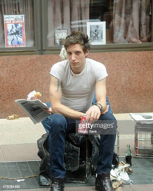 James Jagger is seen on the set of the Untitled HBO/Rock N Roll Project on July 2 2015 in New York City