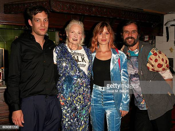 James Jagger Vivienne Westwood Georgia May Jagger and Andreas Kronthaler attend as Dame Vivienne Westwood's Climate Revolution hosts a student night...