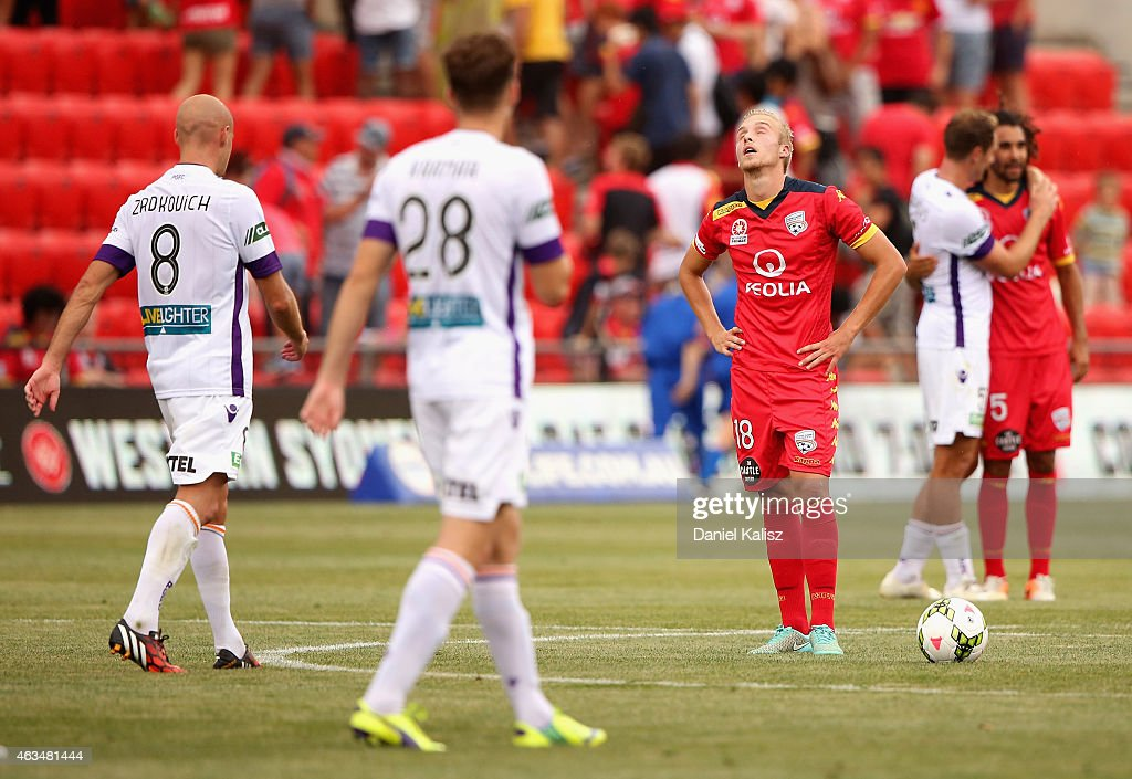 A-League Rd 17 - Adelaide v Perth