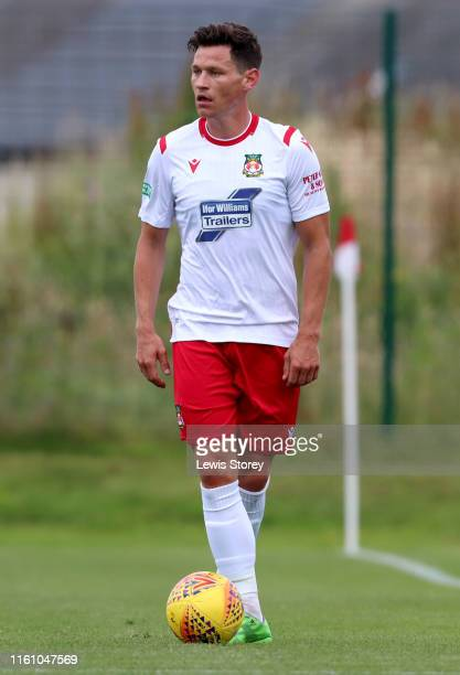 James Jennings of Fleetwood Town in action during the pre season friendly between Fleetwood Town and Wrexham on July 05 2019 in Fleetwood England