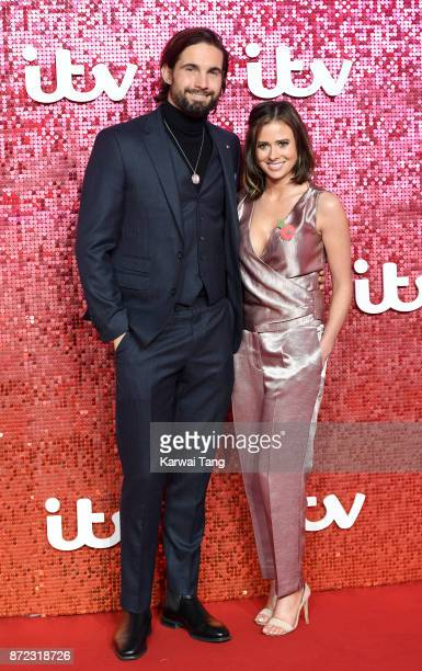 James Jewitt and Camilla Thurlow attend the ITV Gala at the London Palladium on November 9 2017 in London England