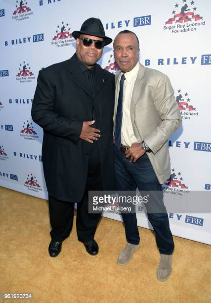 James Jimmy Jam Harris and Sugar Ray Leonard attend the 9th Annual Big Fighters Big Cause Charity Boxing Night Benefiting The Sugar Ray Leonard...