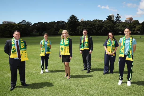 AUS: Media Opportunity Ahead of Australia v Brazil Match In Sydney