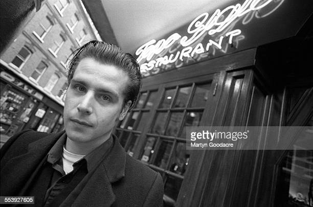 James Johnston of Gallon Drunk and Nick Cave and the Bad Seeds in London United Kingdom 1995