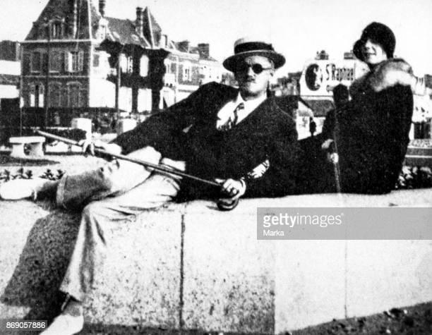 James Joyce and Nora Barnacle 1930