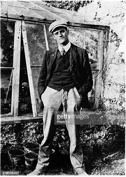 James Joyce at 22 photographed in Dublin in 1904 by friend and fellow University College student Constantine P Curran