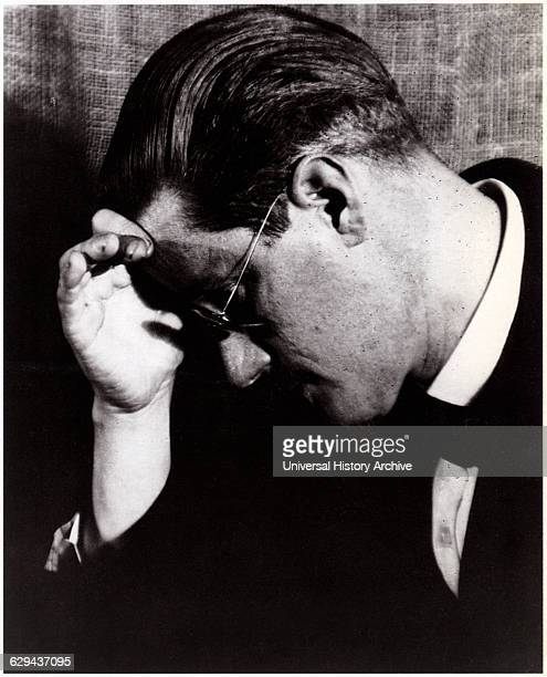 James Joyce Irish Novelist and Poet Portrait circa 1940
