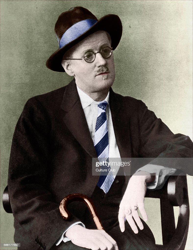 James Joyce portrait Irish writer ( Iris : ニュース写真