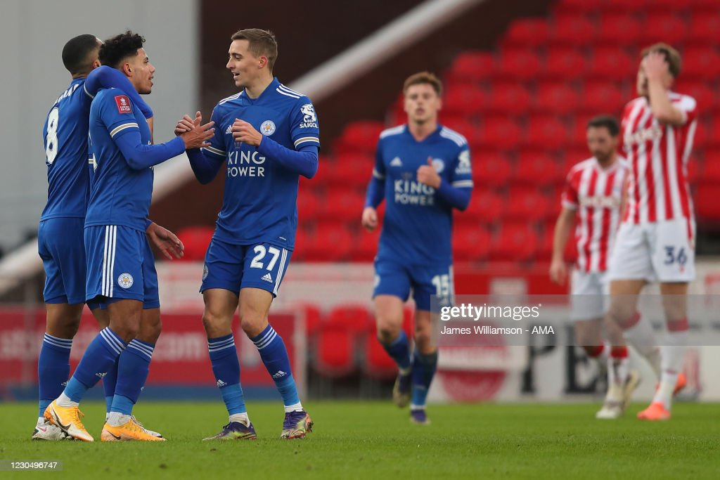 Stoke City v Leicester City - FA Cup Third Round : News Photo