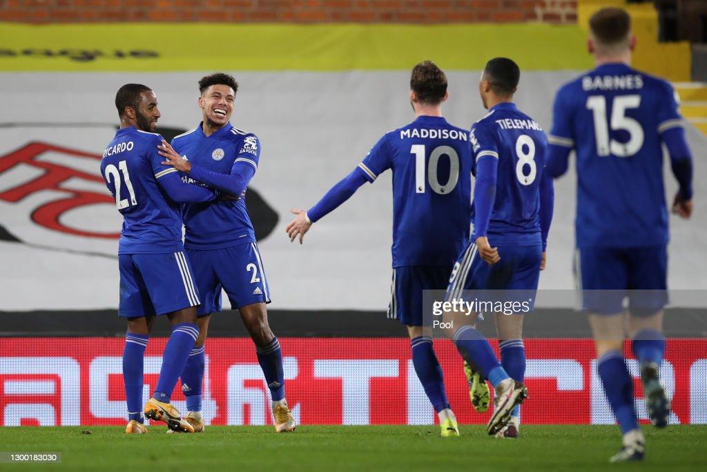 Fulham v Leicester City - Premier League : News Photo